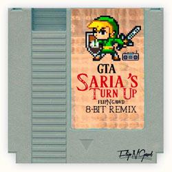 GTA remix, saria's turn up remix, flipN remix, gawd remix, 8BIT remix