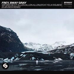 Frey x Sway Gray feat. Felix Rauber - Wir Sind Nicht Allein (Allein Allein) (DubVision Remix)